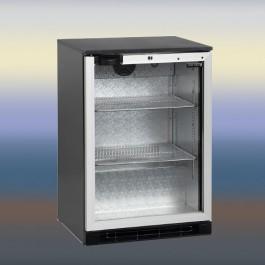 BA15H/A, klaasuksega baarikapp alumiiniumist ukseraamiga