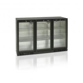 BA30H, kolme klaasuksega baarikülmkapp