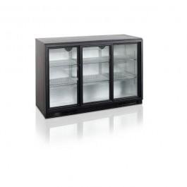 BA30S-3, kolme klaasliuguksega baarikülmkapp