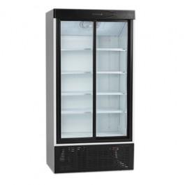 FS1002S, klaaslükandustega külmkapp