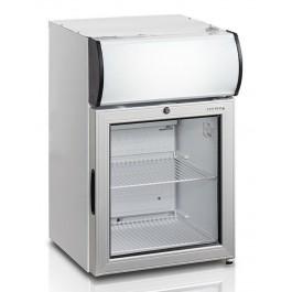 Tefcold FS60CP, klaasuksega ja reklaamvalguskastiga külmkapp