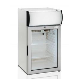 Tefcold FS80CP, klaasuksega ja reklaamvalguskastiga külmkapp