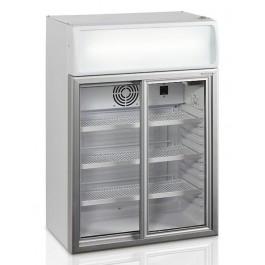 Tefcold FSC100, klaasliugustega külmkapp