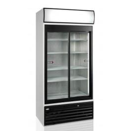 FSC1000S, klaaslükanduste ja reklaamvalguskastiga külmkapp
