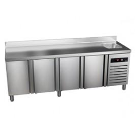 Külmtöölaud kraanikausiga GTP-7-225-40 S