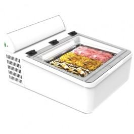 Mini Cream 3V, antud fotol on vitriin koos lisavarustusega - valguskast