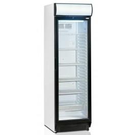 Tefcold SCU1375CP, klaasukse ja reklaamvalguskastiga külmkapp