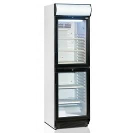 Tefcold SCU2375CP, reklaamvalguskasti ja kahe klaasuksega külmkapp