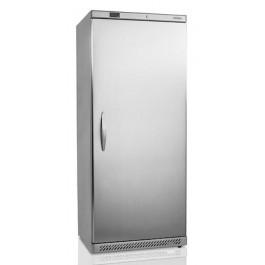 UR600S, umbuksega külmkapp roostevabast terasest välisviimistlusega