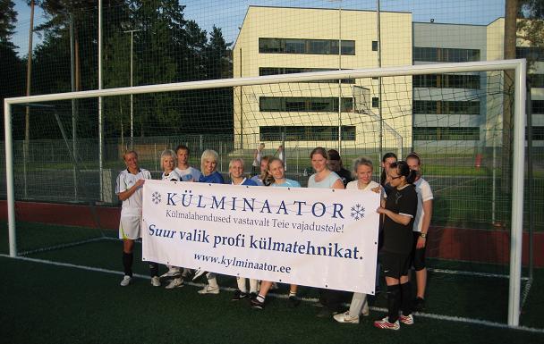 Toetame spordielu - naiste jalgpall..